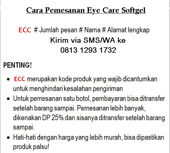 Cara Pesan Eye Care Softgel